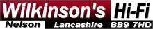 Wilkinson's Hi-Fi, Nelson, Lancashire Logo