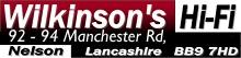 Wilkinson's Hi-Fi, Nelson, Lancashire, UK Logo